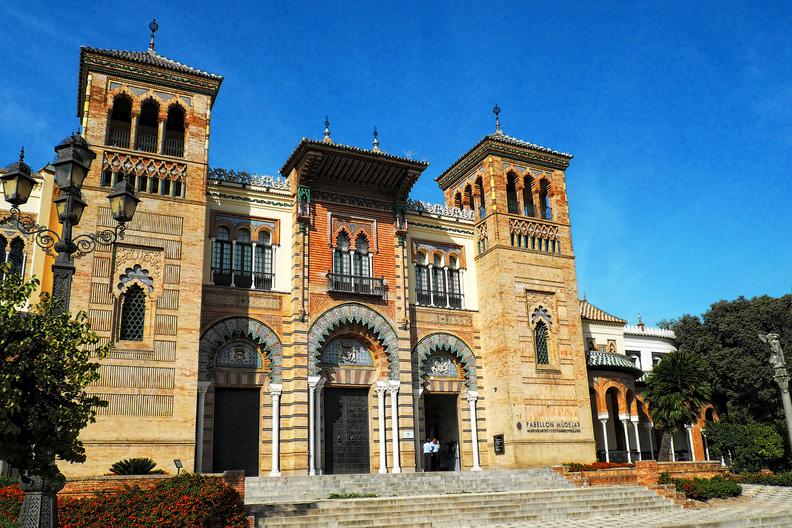 Обязательно посетите археологический музей в Севильи