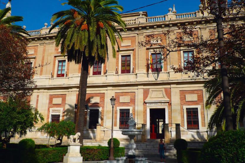 городской архив Севильи обязательное место для посещения