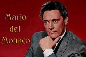 Испанский певец Дель Марио Монако