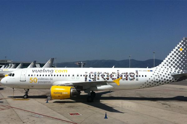 Испанские авиалинии - VuelingAir