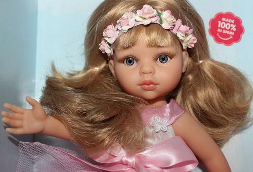 Настоящая кукла из Испании.