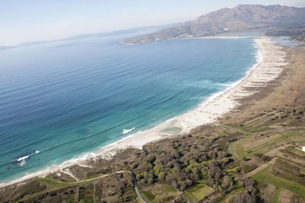 Carnota beach Второй по популярности испанский пляж