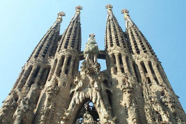 Храм Саграда Фамилия в Испанском городе Барселона