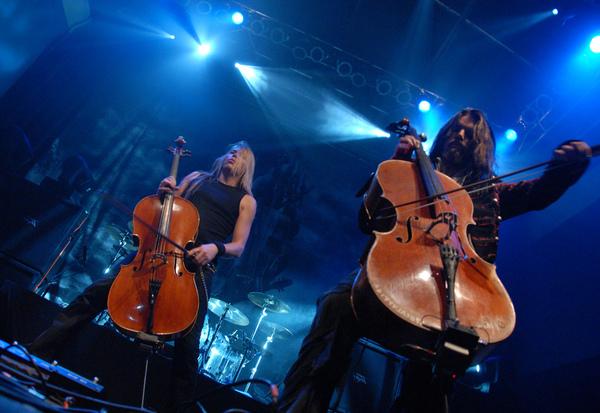 Концерт группы Apocalyptica.