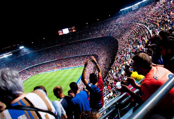 Стадион Камп Ноу.