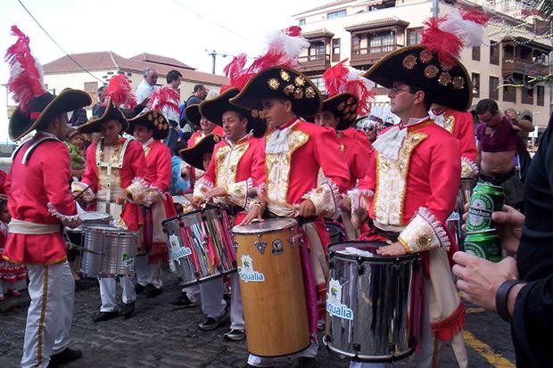Национальный испанский праздник.