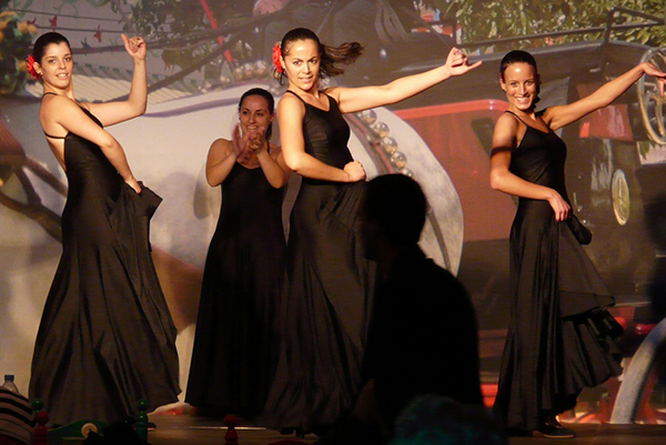 Где ещё наслаждаться фламенко, как не в столице Каталонии.