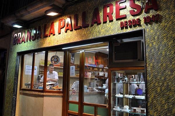 Ресторанчик La Pallaresa радует гостей своими сладостями.