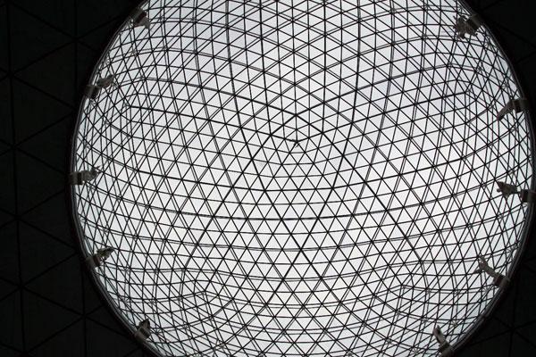 Стеклянный купол.