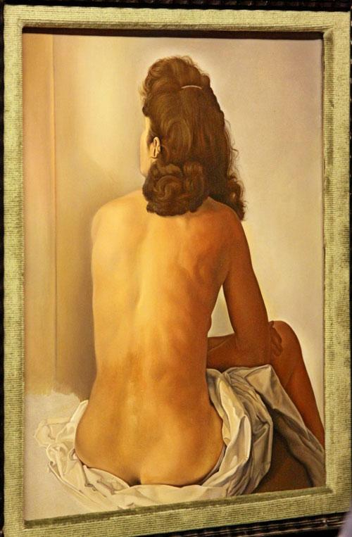 Муза и жена художника, его главная модель.