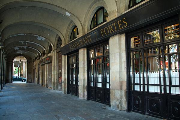 В ресторане 7 Portes в своё время обедал Пикассо.
