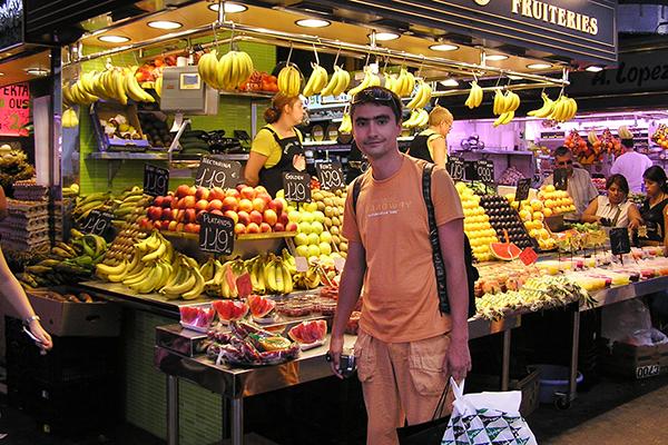 La Boqueria — самый старинный испанский рынок.