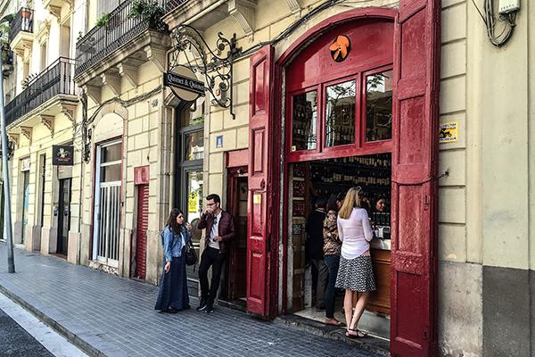 Quimet & Quimet — один из самых старых баров Барселоны.