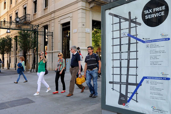 Tax Free можно вернуть в специальных туристических офисах.