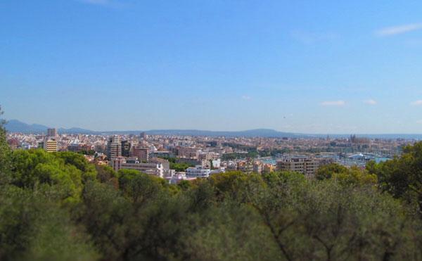 Панорама Пальмы-де-Майорка.