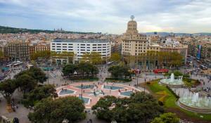 Площадь Каталонии в Барселоне — расположение на карте (как добраться на метро), отели и магазины, отзывы туристов