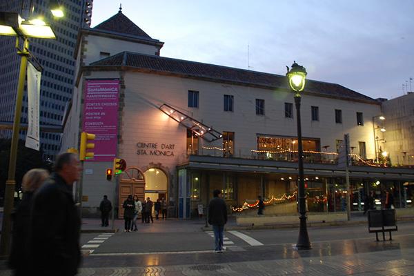 Centre d'Art Santa Monica.