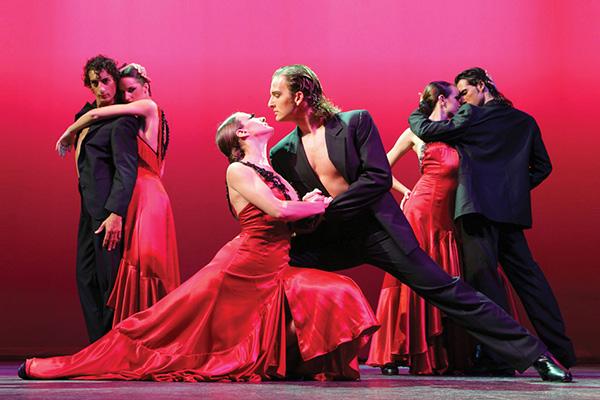 Шоу фламенко.