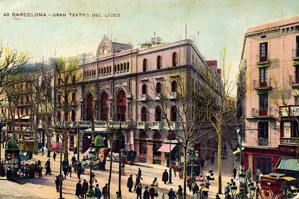Оперный театр Liceo.