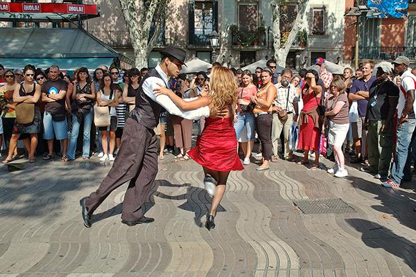 Танцоры.
