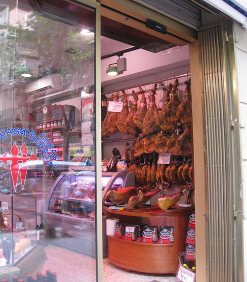 Где в Испании купить хамон?