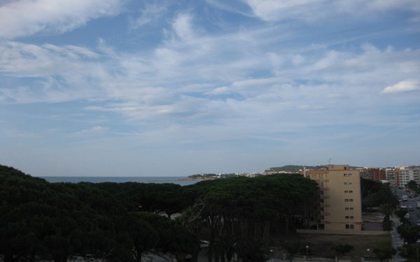 Вид на море из номера.