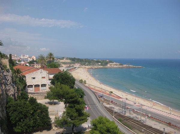 Пляж Таррагоны.