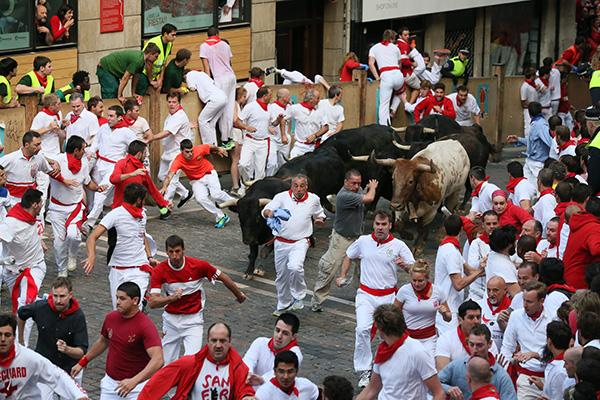 Бег с быками.