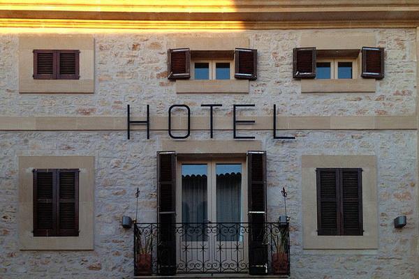 Провинциальная испанская гостиница.
