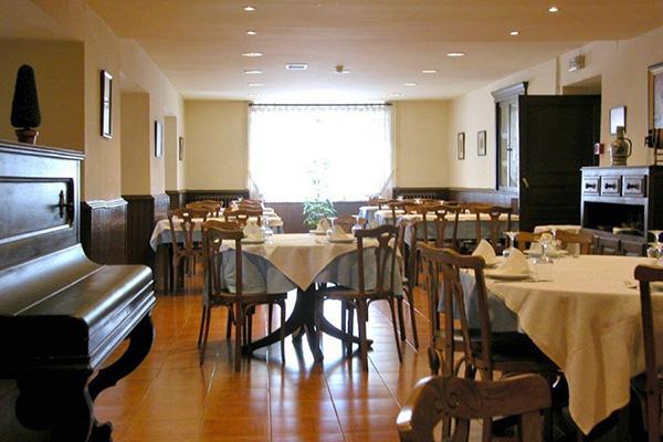 Ресторан гостиницы.