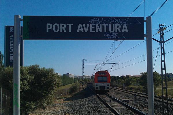 Станция Port Aventura.