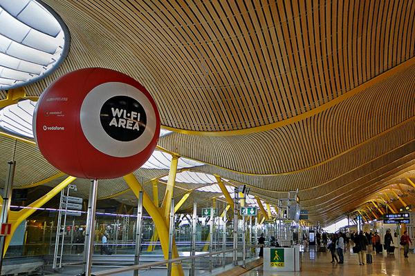 Wi-fi-зона аэропорта.