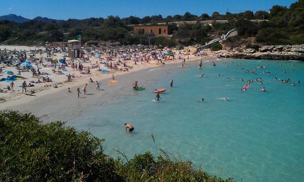 Пляж Порто Колом.
