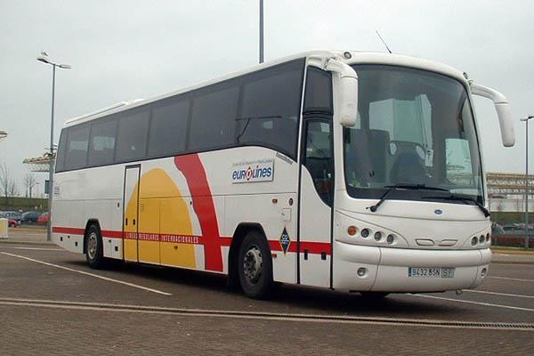 Автобус Alsa.