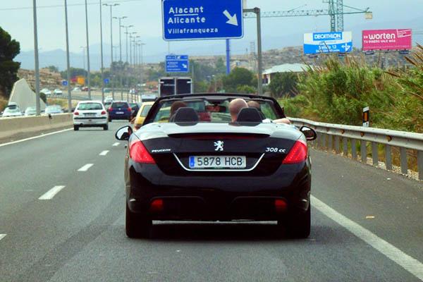 Путешествие на автомобиле.