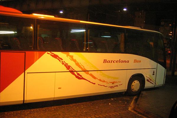 Автобус Barcelona Bus.