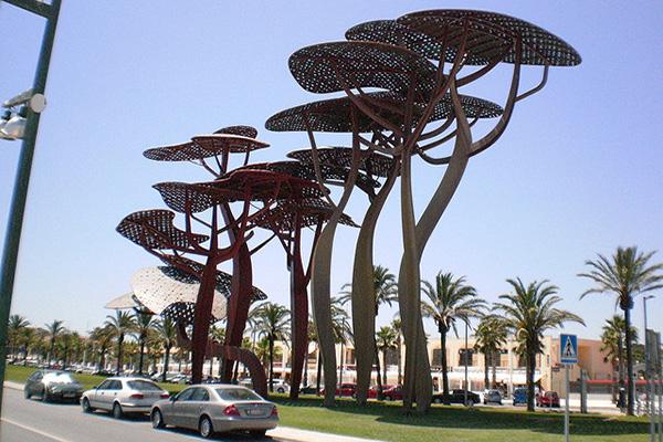 Скульптура «Сосны».
