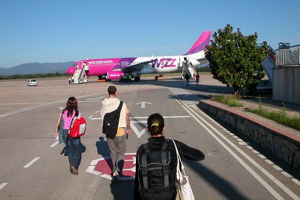 Самолёт авиакомпании Wizz Air.