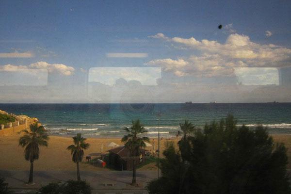 Из окна автобуса.