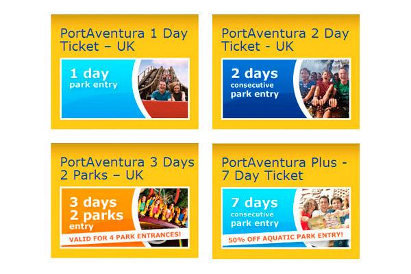 Билеты в Port Aventura Park.