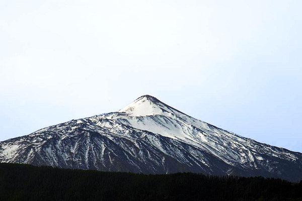 Вулкан Тейде в феврале 2020 года.