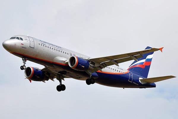 Самолёт авиакомпании Аэрофлот.