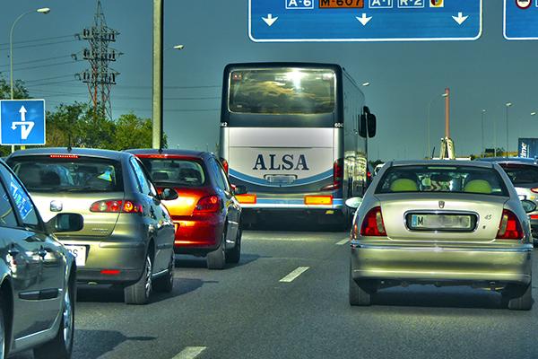 Автобус компании Alsa.