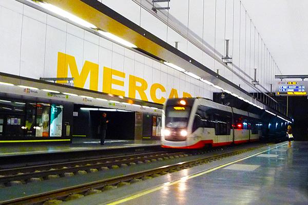 Станция Mercado.