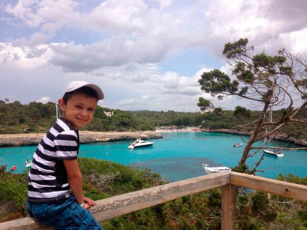 Вид на бухту Мондраго.