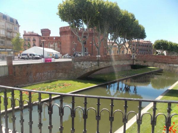 Перпиньян вид с моста.