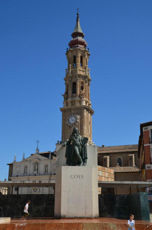 Памятник Гойя.