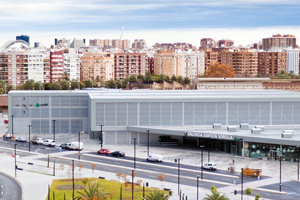 Вокзал Estación Joaquin Sorolla.