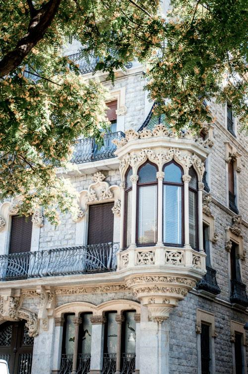 Изящный балкончик.