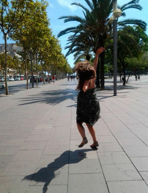 Прогулка по Барселоне.